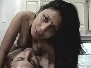 Gallery 15. Indian lascivious couple having a sex in their bedroom