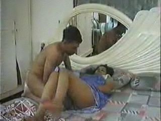Gallery 28. Couple having a great fun in their bedroom
