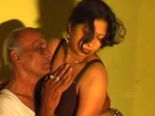Gallery 137. Old man enjoying sex with mature housewife