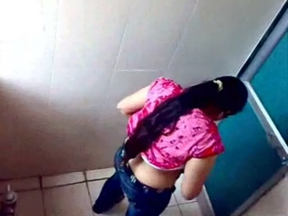 Gallery 184. Desi girl enjoying toilet time