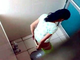 Gallery 289. Lustful girl in toilet