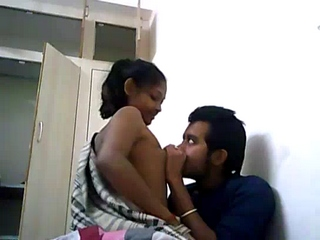 Gallery 821. Indian university couple make love on a webcam