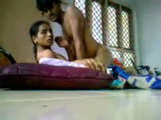 Gallery 872. Young indian couple caught on hiddencam having sex