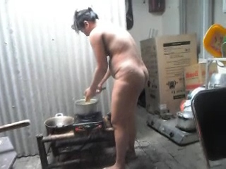Gallery 996. Telugu bhabhi naked in kitchen cooking