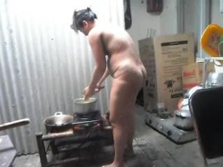 Gallery 996. Telugu bhabhi naked in kitchen cooking