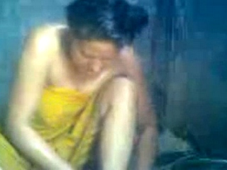 Gallery 1009. Manipuri bhabhi in shower