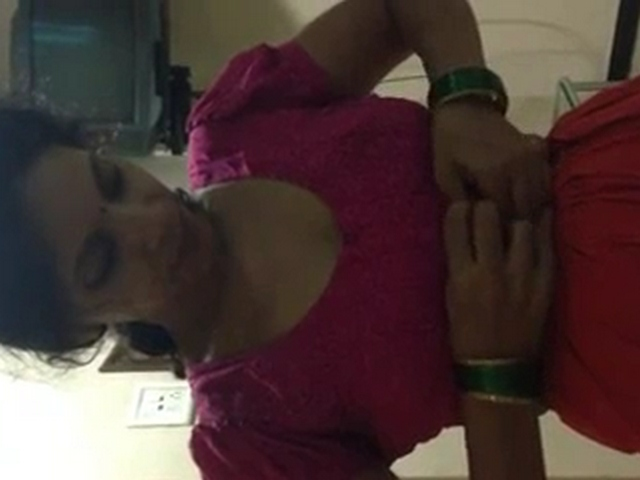 Gallery 1078. Indian bhabhi changing taking her blouse off and bra