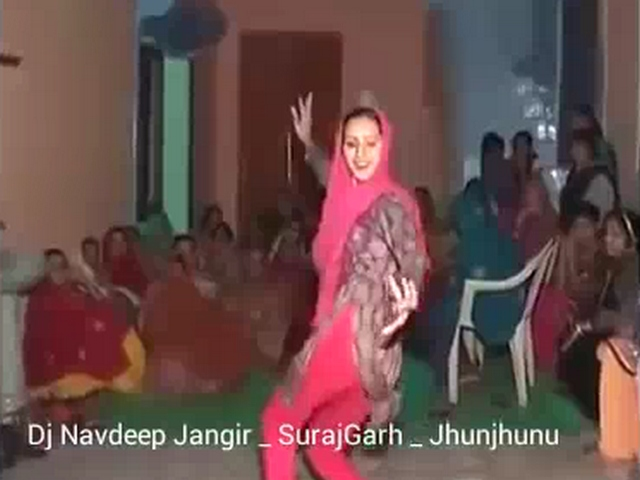 Gallery 1122. Indian bhabhi from Haryana dancing in her friend wedding party